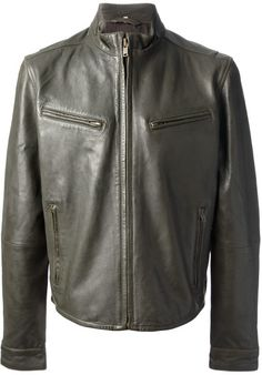 Levi's Vintage Clothing Green Levis Vintage Clothing Leather Jacket
