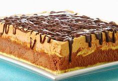 Me Encanta el Chocolate: Tarta de turrón y chocolate Czech Desserts, Köstliche Desserts, Delicious Desserts, Yummy Food, Easy Sweets, Parfait Recipes, Chocolate Pies, Pastry Cake, Sweet Tarts