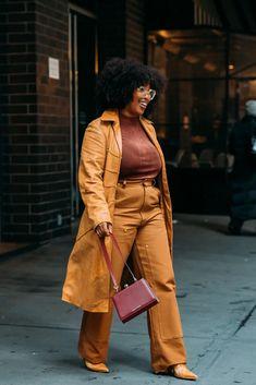 Best Street Style at New York Fashion Week Fall 2020 | POPSUGAR Fashion