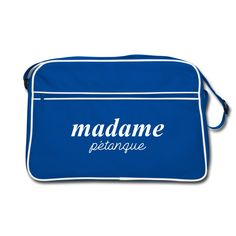 """Retro Bag - Sac Retro - Collection """"Madame Pétanque"""" #extremeboules #pétanqueextrème #streetpetanque #urbanpetanque #extremebocce #petanque #petanca #jeuxdeboules #boules #bocce #bocceball #beautiful #fashion #pretty #fashionstyle #street #shirt #shopping #styleoftheday #comfortable #outfitideas #outfit #trendystyle #inspiration #unique #menswear #clothes #outfitoftheday #mensfashion #shop #boutique #beauty #streetstyle #streetwear #streetwearfashion #urbanwear #hoodie #tshirt #blue #white"""