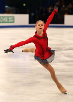 Julia Lipnitskaya Probably one of the most amazing ice skaters I have ever seen.