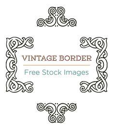 Free Stock Images | Decorative Borders - http://vintagegraphics.ohsonifty.com/free-stock-images-decorative-borders/