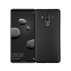 Coque Huawei Mate 10 Pro Fibre de carbone - Noir