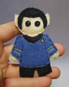 * in stock and ready to ship * Hikaru Sulu Star Trek plushie