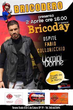 Ospitata di #fabiocolloricchio al Bricodero di Torano Scalo in provincia di #Cosenza domenica 2 Aprile.  _____________________________________ #danieledefalcomanagement #uominiedonne #tronoclassico #ued #shop