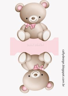1 million+ Stunning Free Images to Use Anywhere Baby Shower Parties, Baby Boy Shower, Paper Toys, Paper Crafts, Theme Mickey, Paper Box Template, Box Templates, Teddy Bear Party, Baby Box