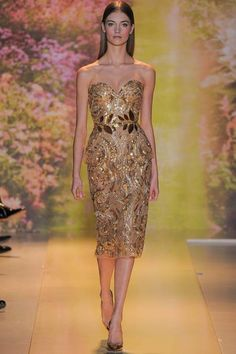 View all the catwalk photos of the Zuhair Murad haute couture spring 2014 showing at Paris fashion week. Read the article to see the full gallery. Zuhair Murad, Fashion Week Paris, Spring Couture, Haute Couture Fashion, Couture Week, Fashion Moda, Fashion Show, Fashion Design, Fashion 2014