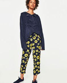 Image 3 of TROUSERS WITH STRETCH WAIST from Zara