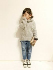 Anatomy: I want to be YU when I grow Anatomía: Yo de mayor quiero ser YU Anatomy: I want to be YU when I grow up - Little Girl Fashion, Toddler Fashion, Kids Fashion, Fashion Pics, Super Moda, Look Girl, Stylish Kids, Kid Styles, Comfortable Outfits