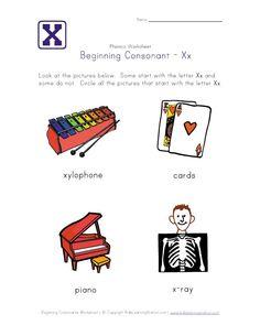 letter q consonant worksheet | Phonics-Early Reading | Pinterest ...