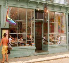 Cafe Heaven - Provincetown, MA, great breakfast (omelets, banana pancakes)