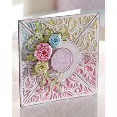 Diesire Create-a-Card Metal Die - Bordeaux - Decorative Dies - Die'Sire - Dies - Card & PaperCraft