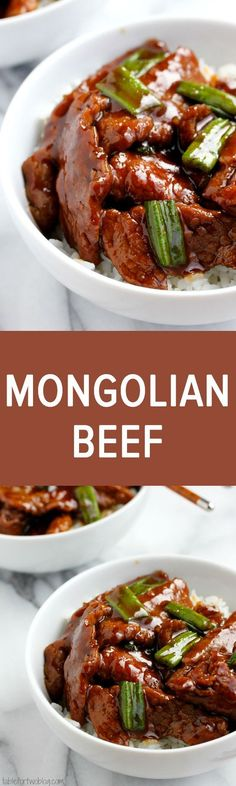 Skip the take-out! Mongolian beef is easy to make at home!