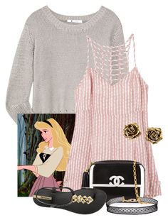 """""""Briar Beauty🌸👑🌹"""" by fashionimagination ❤ liked on Polyvore featuring T By Alexander Wang, RVCA, Chanel, IPANEMA, Tiffany & Co. and Humble Chic"""