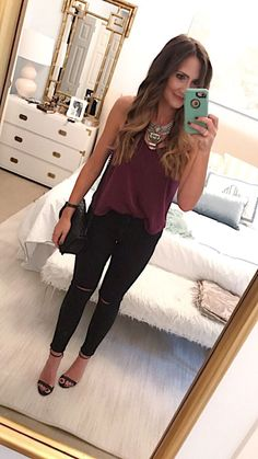d26c109bf 64 Sassy Date Night Outfits Ideas That Don't Involve a Dress Winter Date  Night