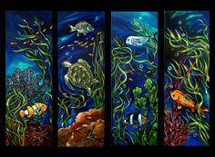 Coral Reef Series Painting