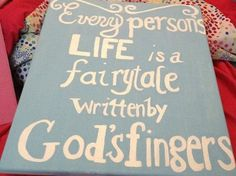 Quote Canvas Painting by MeghansCreations1 on Etsy, $20.00