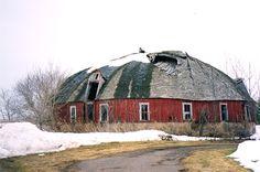 Polk Cty Wisc. Round Barn