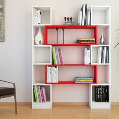 Biblioteczka Minar Hope Red