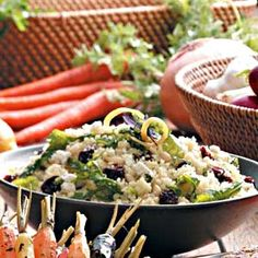 Couscous Salad with Lemon Vinaigrette Recipe from Taste of Home