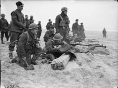 Men of the 1st Royal Welch Fusiliers near Etaples February 1940