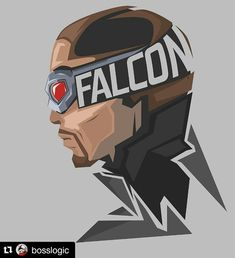 Falcon - Anthony Mackie #CivilWar #popheadshots