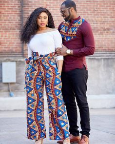 Matching Ankara Outfits Ideas for Couples Couples showcase their romantic relationship with beautiful and colourful Ankara outfits., you'll see how lovely couples look in Matching Ankara Outfits. African Fashion Ankara, African Inspired Fashion, Latest African Fashion Dresses, African Print Fashion, Africa Fashion, African Prints, African Fabric, African Fashion For Men, Nigerian Fashion