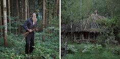 Fotografías de personas que viven solas en la naturaleza