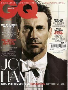 Jon Hamm en GQ UK.