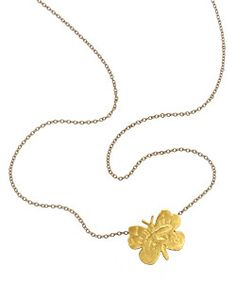 Page Sargisson Mini Butterfly Pendant Necklace