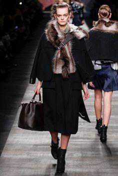 #Fendi #FW2014_15 #trends #furry #Catwalk #MFW #Milan