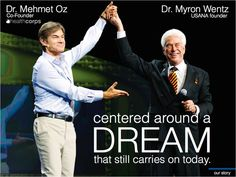Two men with powerful visions for a world of better health, free from pain and suffering!