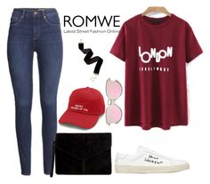 """""""Untitled #11"""" by lejlahurtic ❤ liked on Polyvore featuring H&M, Miss Selfridge and Yves Saint Laurent"""