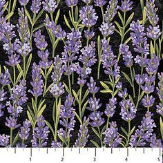 Lavender Market - Single ColorwayBy Deborah Edwards Northcott Studio 20291-99