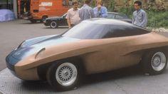 OG   1989 Porsche Panamerica   Full-size clay model