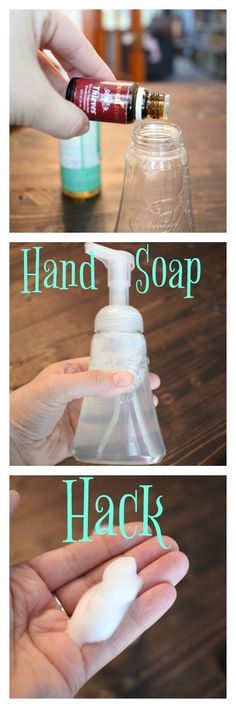 Hand Soap Hack: making natural soap SO CHEAPLY!