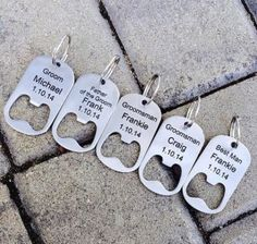 how to ask your groomsmen - Google Search