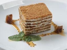 Honey Cake with Sour Cream