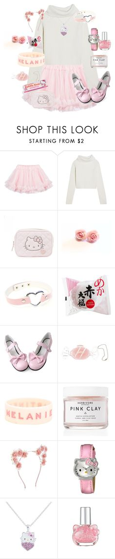 """""""Really bad color matching!!!!"""" by citykitty1234 ❤ liked on Polyvore featuring LILI GAUFRETTE, Haider Ackermann, Hello Kitty, Hard Candy, Hot Topic, Herbivore and New Look"""