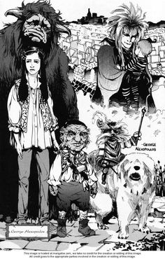 Jim Henson's Return to Labyrinth Vol. 2 - Read Jim Henson's Return to Labyrinth Vol. 2 comic online in high quality Return To Labyrinth, Labyrinth Film, Fantasy Movies, Fantasy Art, Labrynth, Goblin King, The Dark Crystal, Jim Henson, Movies Showing