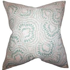 The Pillow Collection Glynis Floral Bedding Sham Size: Standard, Color: Pink/Green