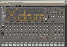 xdrum ensemble for reaktor 5