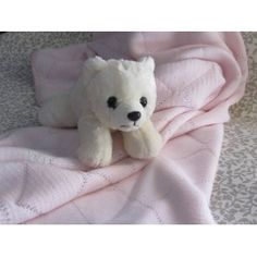 Shop powered by PrestaShop Knitted Baby Blankets, Baby Knitting, Wraps, Cushions, Teddy Bear, Diamond, Pink, Animals, Throw Pillows