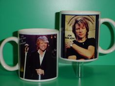 ROLLING STONES with 2 Photos Mick Jagger Designer Collectible GIFT Mug 01