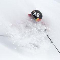 It's light, it's cold, it's deep, and it's really, REALLY awesome. #snow #ski #skiing