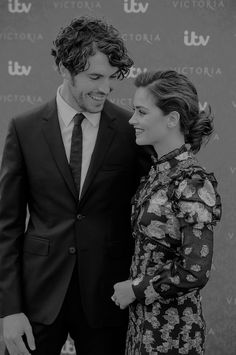 Jenna Coleman and Tom Hughes or Queen Victoria and Prince Albert ;)