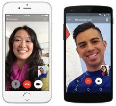 Facebook anuncia chamadas com vídeo no Messenger