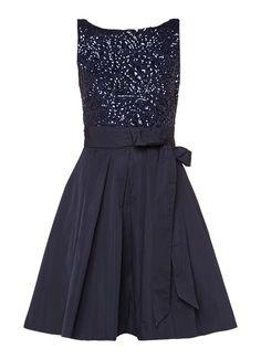 5caa71a80537c5 Op zoek naar Ralph Lauren Kitara A-lijn jurk met paillettentop ? Ma t/m za  voor 22.00 uur besteld, morgen in huis door PostNL.Gratis retourneren.