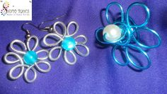 Earrings and wire ring