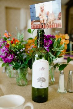 A cute table number idea